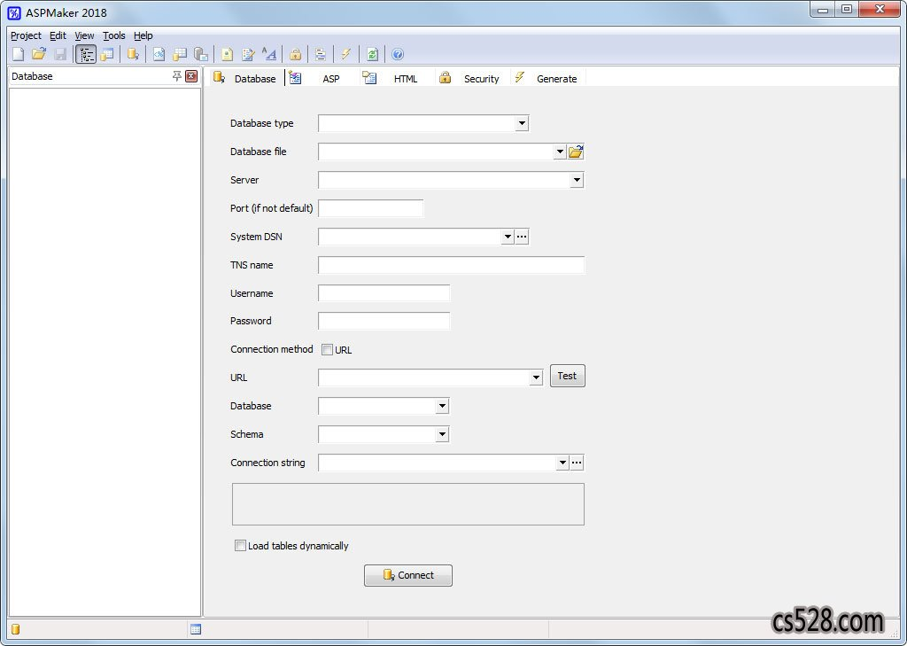 ASPMaker(网站后台制作工具) V2018.0.4